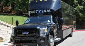 Black Ford F550 Party Bus (26 passengers)