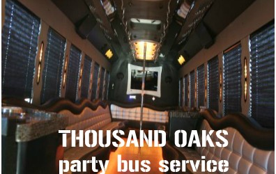 Party Bus and Limousine Rentals in Thousand Oaks, CA