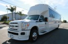 White Ford F550 Party Bus (26 passengers)